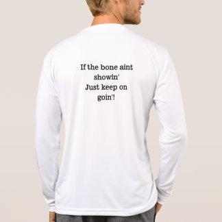 Showin del aint del hueso camiseta