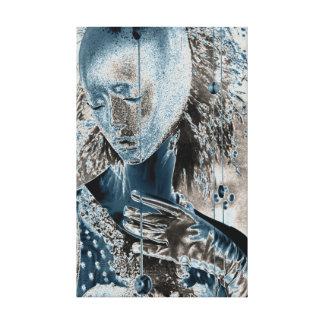 Showing Pain Through Art Canvas Print