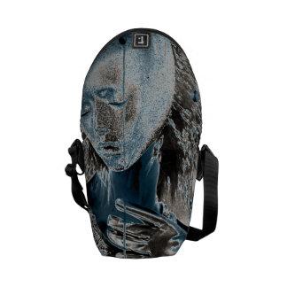 Showing Pain Through Art Messenger Bags