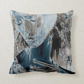 Showing Pain Through Art Throw Pillow