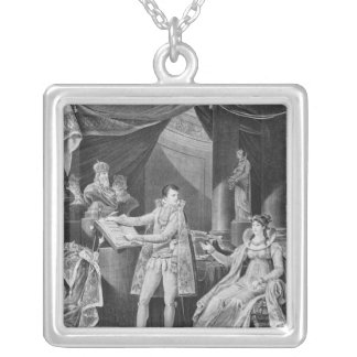 Showing  the articles from the Code Civil Silver Plated Necklace