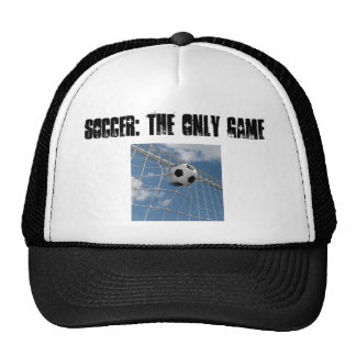 showing your love for the game trucker hat