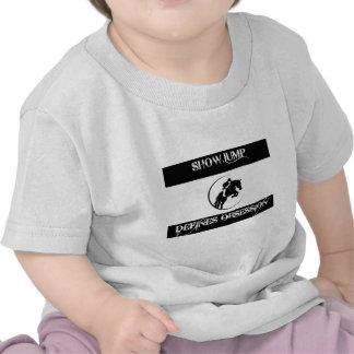 showjump design tshirt