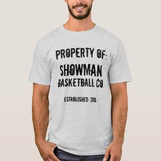 Showman Basketball Co. T-Shirt