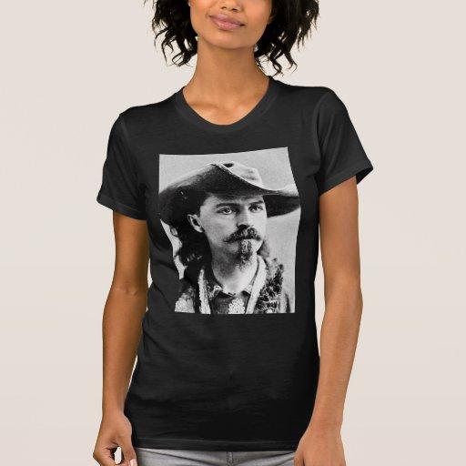 Showman del oeste salvaje del explorador occidenta camiseta