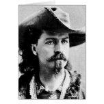 Showman del oeste salvaje del explorador occidenta felicitacion