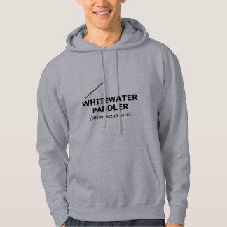 (shown actual size) hooded sweatshirt
