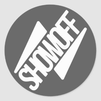 SHOWOFF Brand Sticker