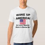 ShowProof, WAKE UPAMERICA!, Or Lea... - Customized T-shirt