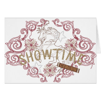 showtime card
