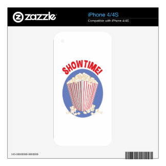 Showtime Skin For iPhone 4