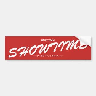 Showtime Slap Bumper Sticker