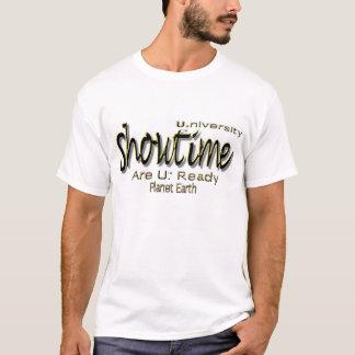 "Showtime U. (University) ""Are U. Ready"" T-Shirt"