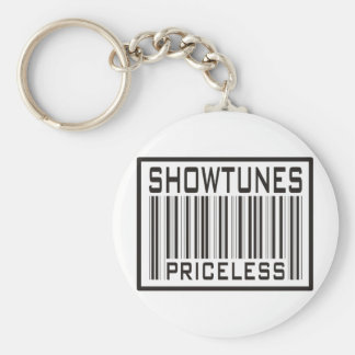 Showtunes Priceless Keychain