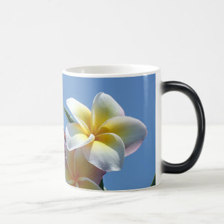 Showy Plumeria Frangipani Blooms Magic Mug
