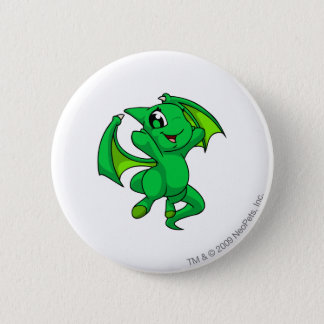 Shoyru Green Pinback Button