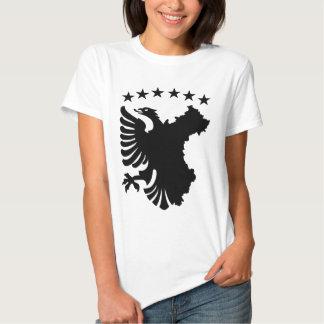 Shqipe - bandera autóctona playera