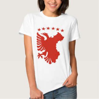 Shqipe - bandera autóctona polera