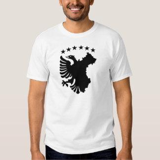 Shqipe - bandera autóctona poleras