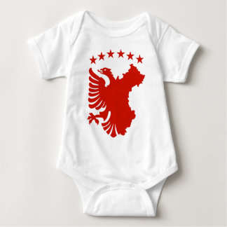 Shqipe - bandera autóctona remeras