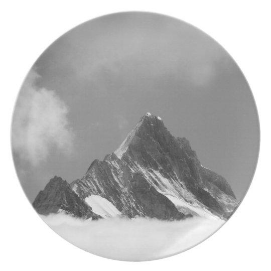 Shreckhorn summit, 3741 m. from Faulhorn, Dinner Plate