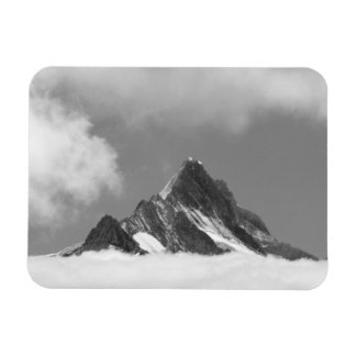 Shreckhorn summit, 3741 m. from Faulhorn, Rectangular Photo Magnet