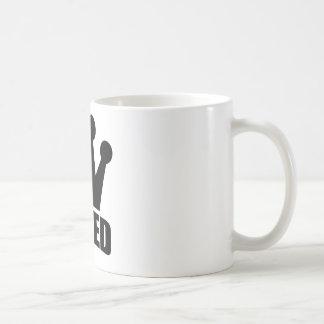 Shred Crown (black) mug (front logo)