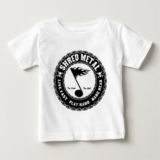 Shred Metal Baby T-Shirt