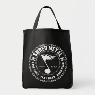 Shred Metal Canvas Bags