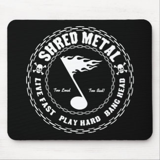 Shred Metal Mouse Pad