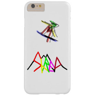 Shred multi-color logo barely there iPhone 6 plus case