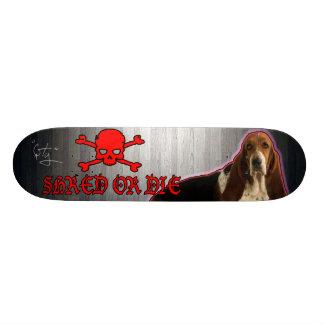 SHRED or Die Basset Hound Skate Boards