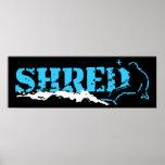 shred poster