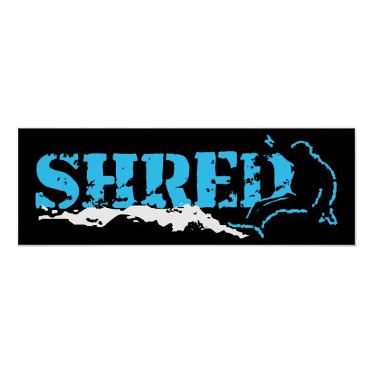 shred poster