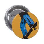 Shred Skateboarding 2 Inch Round Button