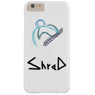 shred snowboarder barely there iPhone 6 plus case