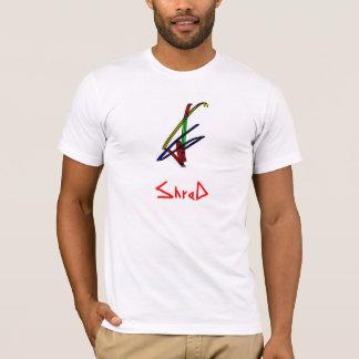 Shred snowboarder multicolor T-Shirt