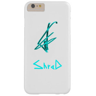 shred snowboarder teal barely there iPhone 6 plus case