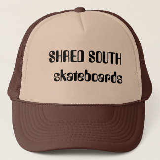 SHRED SOUTH  skateboards Trucker Hat