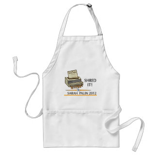Shred the constitution adult apron