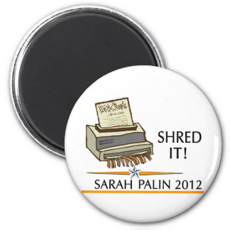 Shred the constitution magnet