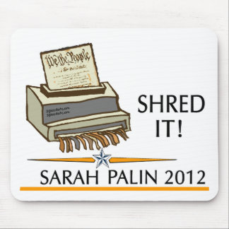 Shred the constitution mouse pad