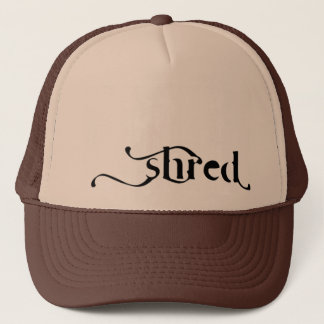 "SHRED ""triumph"" Trucker Trucker Hat"