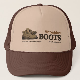 Shredded Boots Logo Hat