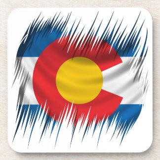 Shredded Colorado Beverage Coaster