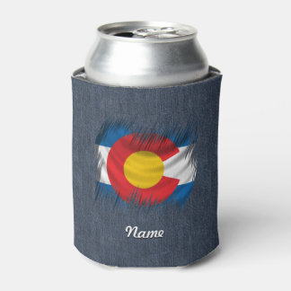 Shredded Colorado Can Cooler