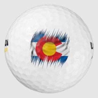 Shredded Colorado Golf Balls