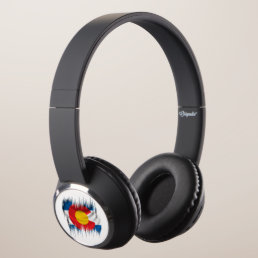 Shredded Colorado Headphones