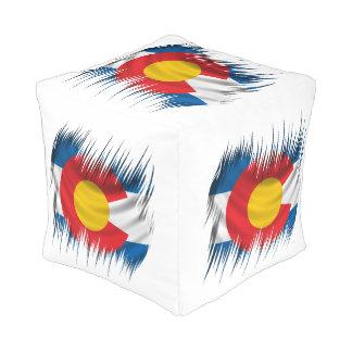 Shredded Colorado Pouf