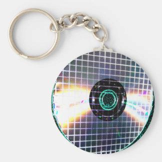 Shredded Disco Galaxy CD Keychain